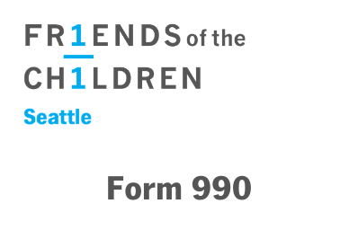 Friends of the Children–Seattle 2018 990